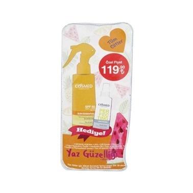 Cosmed Sun Essential SPF50 Spray Lotion 200ml Set Renksiz